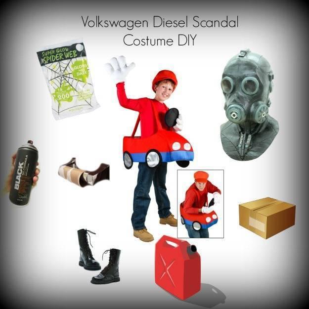 Insolite : l'affaire Volkswagen a maintenant son costume d'Halloween