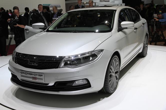 Vidéo en direct de Genève 2013 : Qoros 3, du Volkswagen chinois
