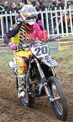Motocross : Grégory Aranda de nouveau sur la moto