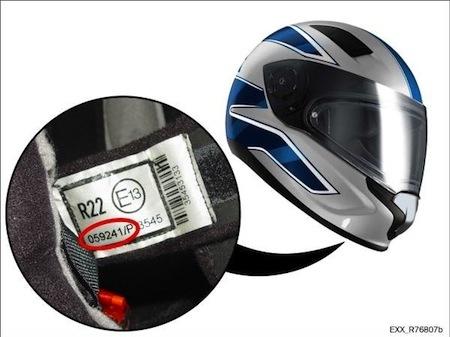 BMW Motorrad rappelle son casque Sport