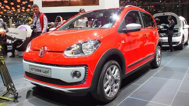 En direct du salon de Genève 2013 - La Volkswagen Cross Up! : en habits champêtres