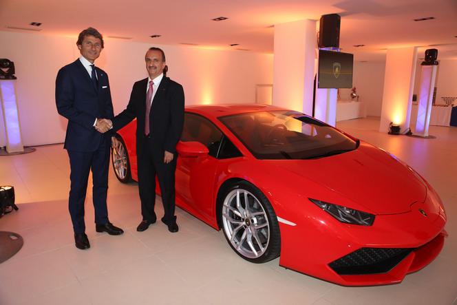Lamborghini ouvre une concession à Cannes