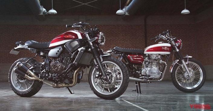 Yamaha Yard Built: XSR 700 et XS 650 1972 en vidéo