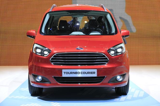 Vidéo en direct de Genève 2013 : Ford Ecosport & Tourneo Courier, pour tous les goûts