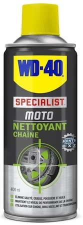 WD-40 Specialist Moto: le Nettoyant Chaîne