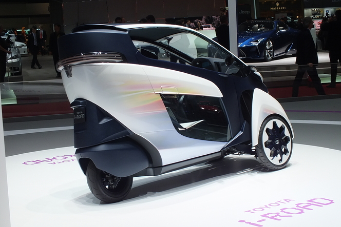 En direct de Genève 2013 - TOyota i-Road Concept