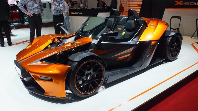 En direct du salon de Genève 2013 - KTM X-Bow GT : plus civilisée
