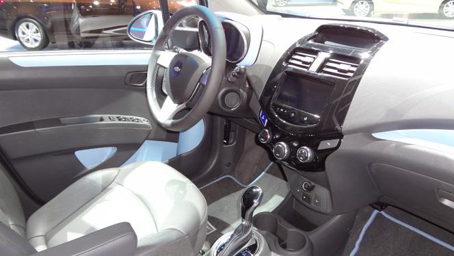 En direct de Genève 2013 - Chevrolet Spark EV : pas vraiment branchée !