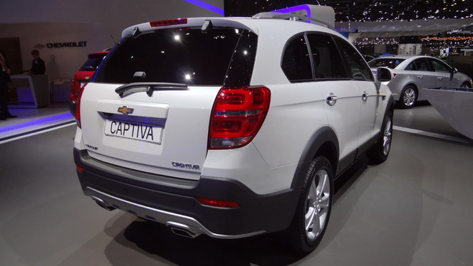 en direct de gen ve 2013 chevrolet captiva restyl toujours captivant. Black Bedroom Furniture Sets. Home Design Ideas