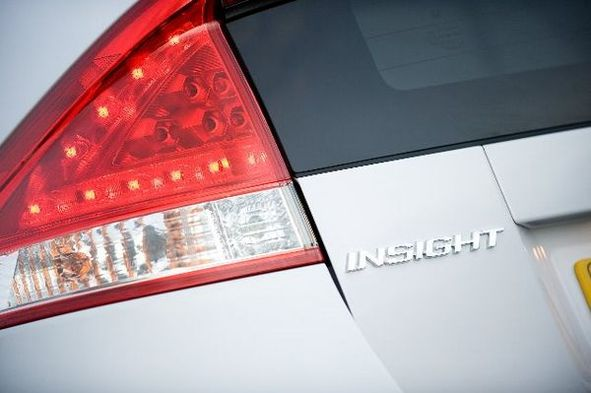 Des photos de la Honda Insight hybride européenne