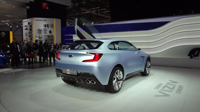 En direct de Genève 2013 - Subaru Viziv Concept : plaisir et tranquillité d'esprit