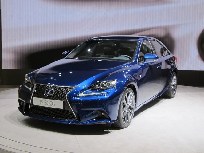 En direct de Genève 2013 - Lexus IS : les prix