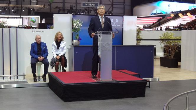 En direct de Genève 2013 - Ssangyong SIV-1 Concept : prometteur !