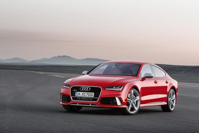 Audi restyle également sa RS7
