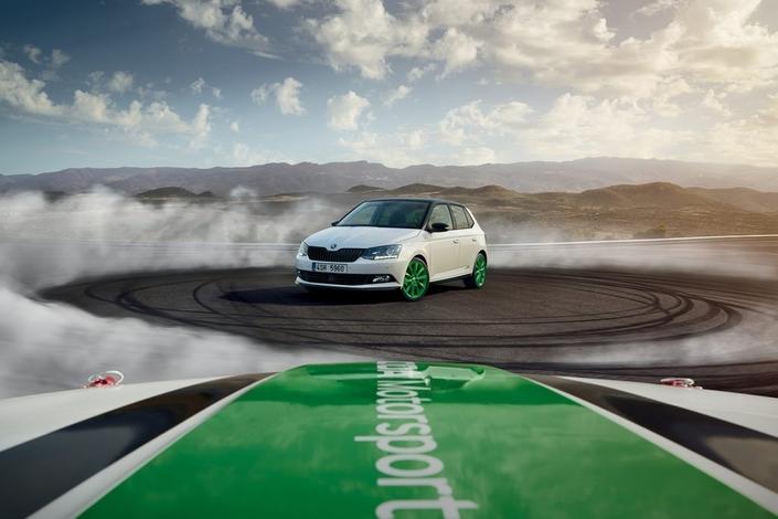 Skoda dévoile une série limitée Fabia WRC2