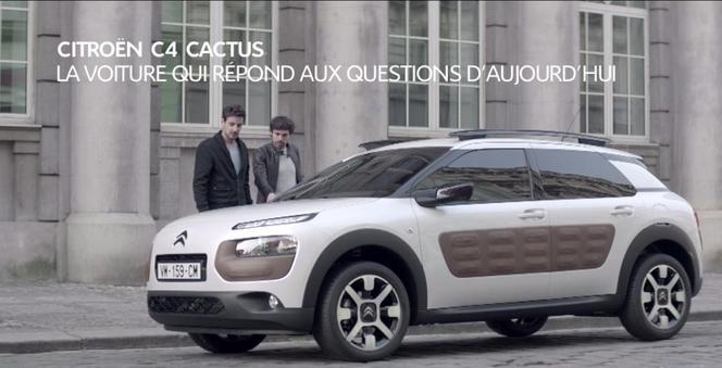 """La Citroën C4 Cactus fait sa """"pub"""""""