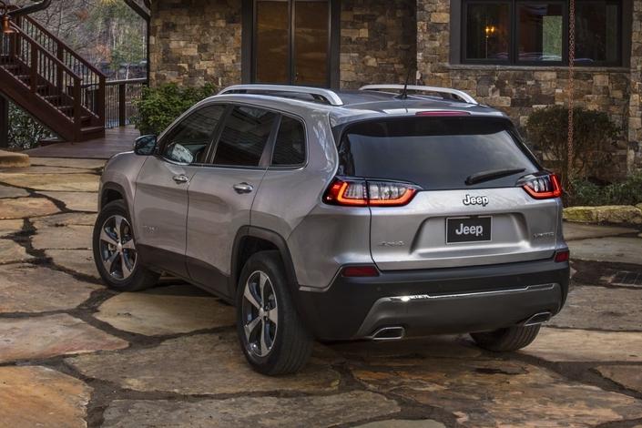 Jeep Cherokee: gros restylage - Vidéo en direct du salon de Genève 2018