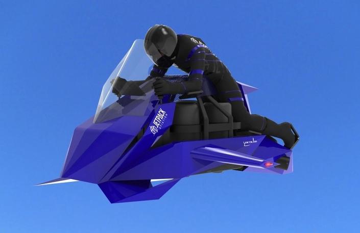Moto volante, JetPack Speeder: ouverture du carnet de commandes