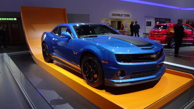 En Direct De Gen 232 Ve 2013 Chevrolet Camaro Hot Wheels