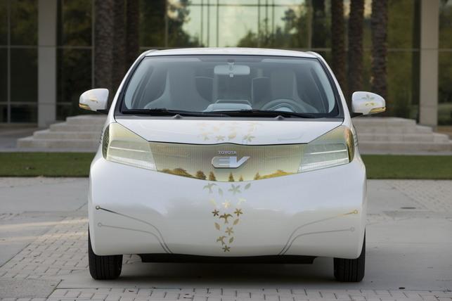 Une Toyota iQ électrique au Salon de Détroit 2009 : le Concept FT-EV