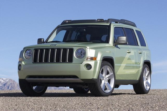 Salon de Détroit 2009 : le Concept Jeep Patriot EV