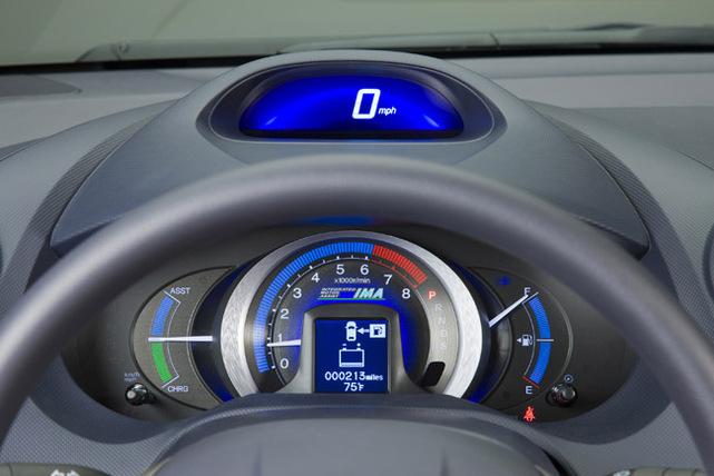 La Honda Insight hybride 2010 exposée au Salon de Détroit