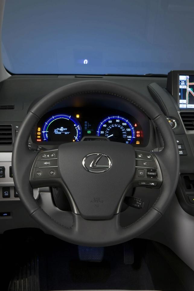 La Lexus HS 250h 2010 dévoilée au Salon de Détroit 2009