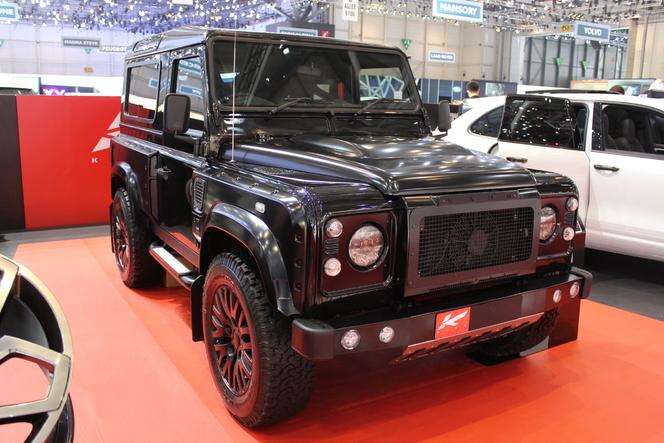 En direct du Salon de Genève 2013 : Mercedes Classe G et Land Rover Defender, le cubisme de nouveau à la mode