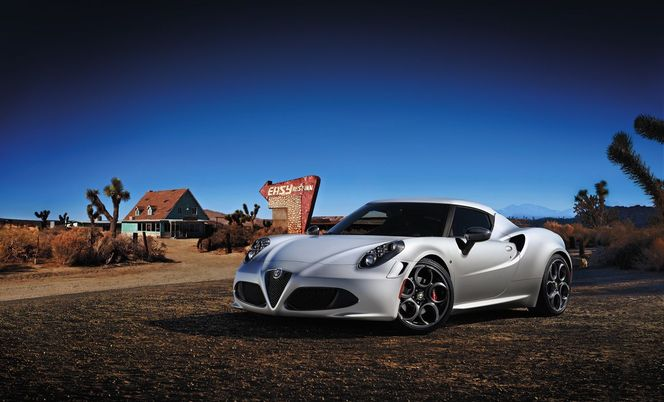 Nouvelle Alfa Romeo 4C Launch Edition