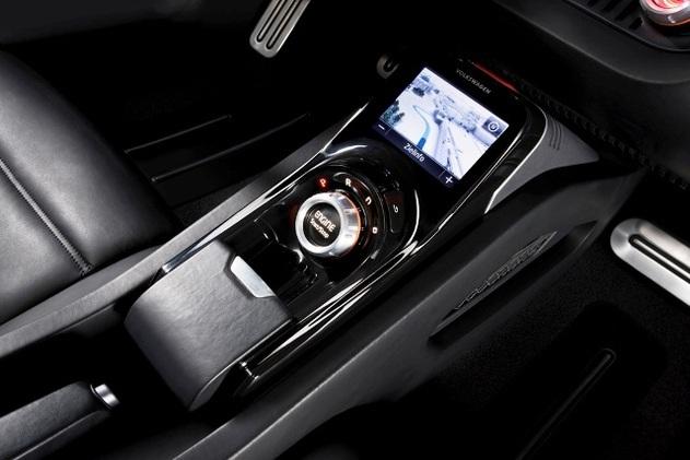 Un roadster Diesel sobre au Salon de Détroit 2009 : le Concept Volkswagen BlueSport