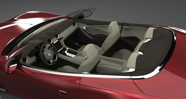 Un cabriolet électrique au Salon de Détroit 2009 : la Fisker Karma S