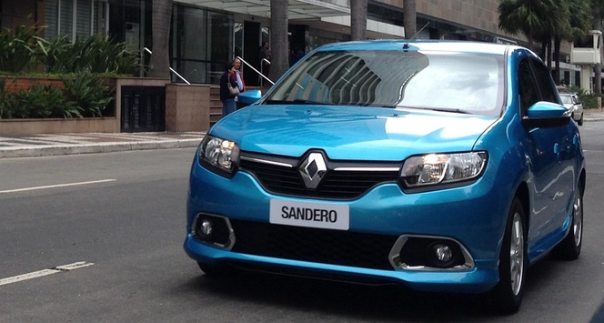 Voici la Renault Sandero