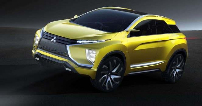 Tokyo 2015 : Mitsubishi eX Concept - un crossover survolté