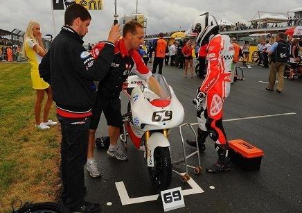 Avec un moteur qui coupait, Louis Rossi n'a eu aucune chance en Allemagne