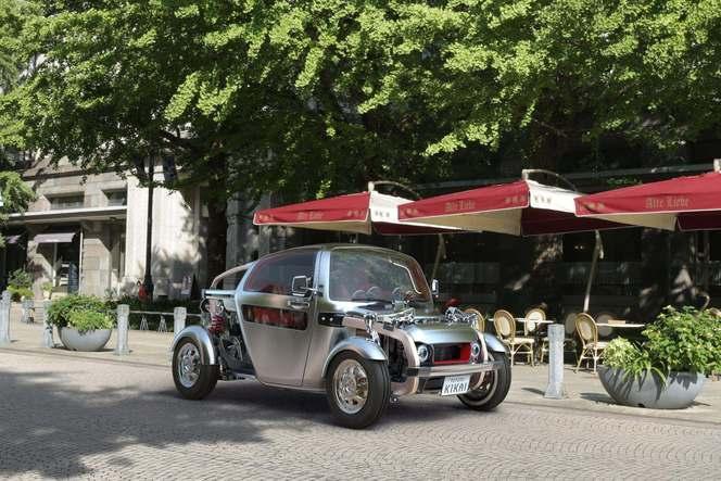 Tokyo 2015 : Toyota Kikai Concept - le hot rod façon buggy