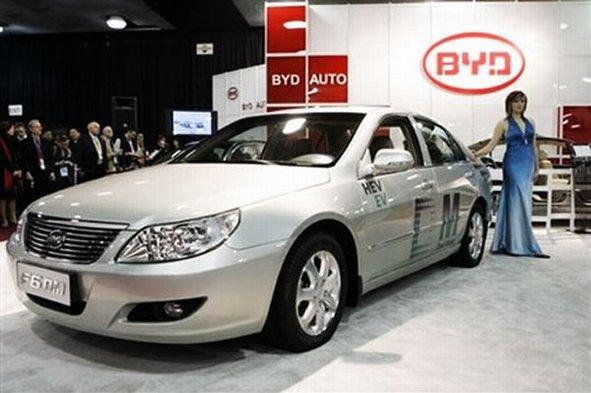 Salon de Détroit 2009 : la BYD F6DM hybride rechargeable