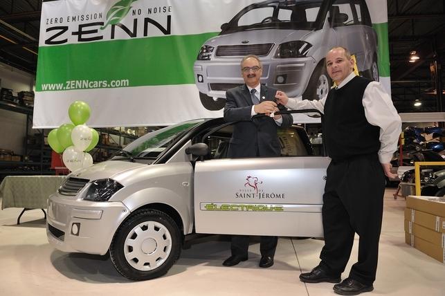 Un nouveau véhicule électrique débarque au Québec : la ZENN 2009