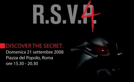 Aprilia RSV-4 : Présentation le 21 Septembre...