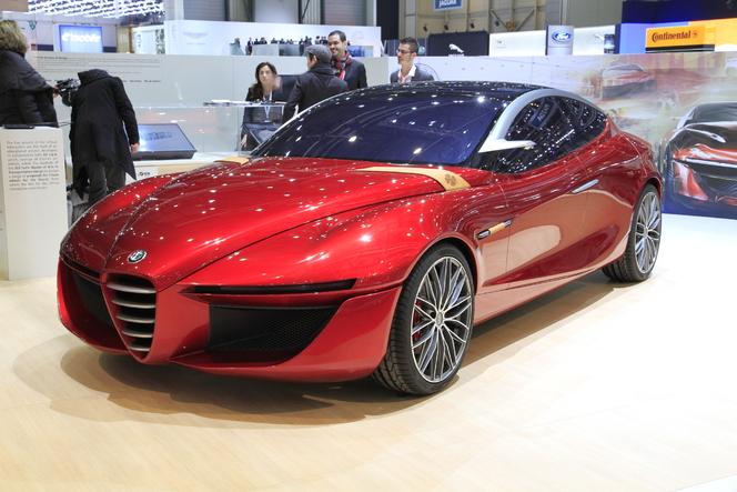 En direct de Genève 2013 : Alfa Romeo Gloria concept, Giulia es-tu là ?