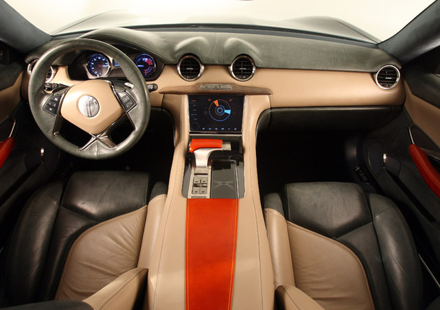 la fisker karma hybride rechargeable au salon de d troit 2009 d 39 autres infos et photos. Black Bedroom Furniture Sets. Home Design Ideas