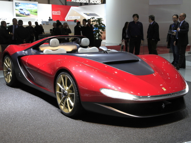 En direct de Genève 2013 : Pininfarina Sergio, une Ferrari mais pas LaFerrari