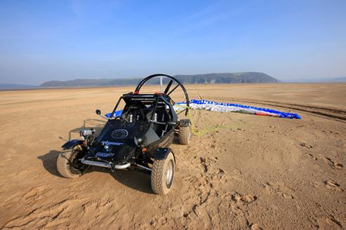 Une auto volante au biocarburant : la Parajet Skycar !
