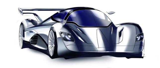 Une supercar à l'énergie éolienne : la RORMaxx Formula AE