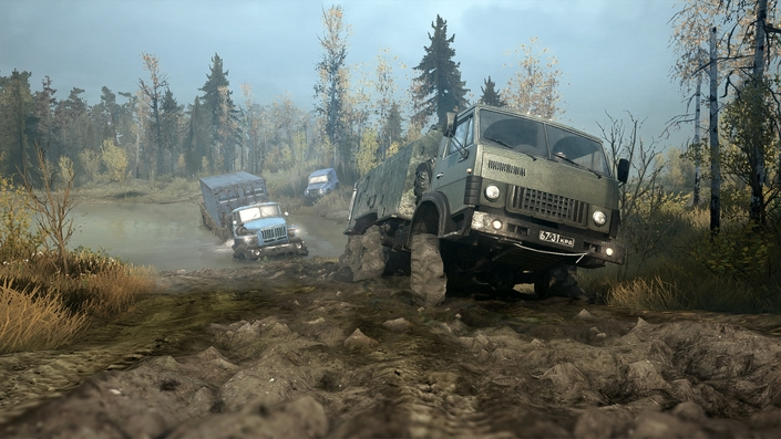 spintires mudrunner les camions de l 39 extr me enfin sur console. Black Bedroom Furniture Sets. Home Design Ideas