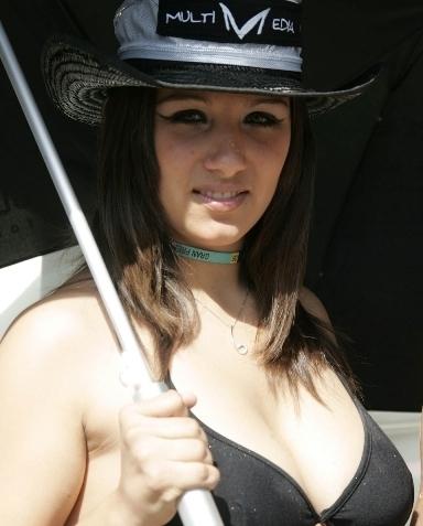 Les demoiselles du Paddock : Gp d'Italie.