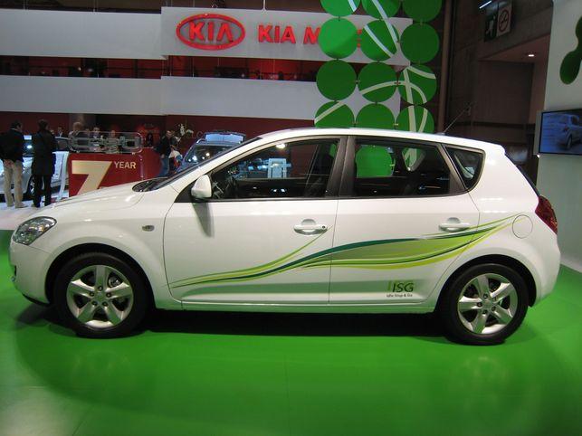 La production de la Kia Cee'd ISG Stop & Start a démarré