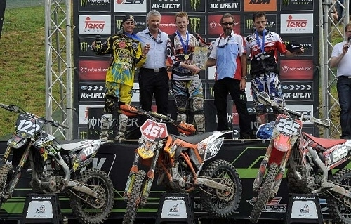EMX2 - Gaildorf : Romain Febvre champion d'Europe MX2 2011
