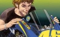 Valentino Rossi : sponsorisé par Manara.