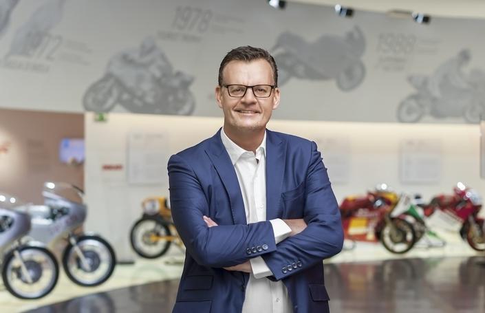 Économie: marge opérationnelle de 7% Ducati en 2018