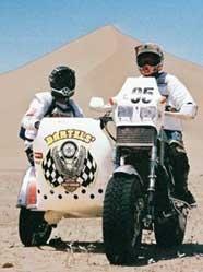 Reportage découverte : Un V-rod au milieu du désert.